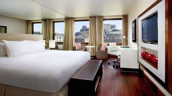 Das Sheraton Grand Hotel & Spa in Edinburgh gehört zu den Top-Hotel-Adressen