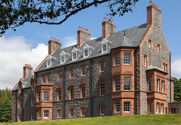 Glencoe House Hotel ist ein luxuriöses Herrenhaus in den Westlichen Highlands