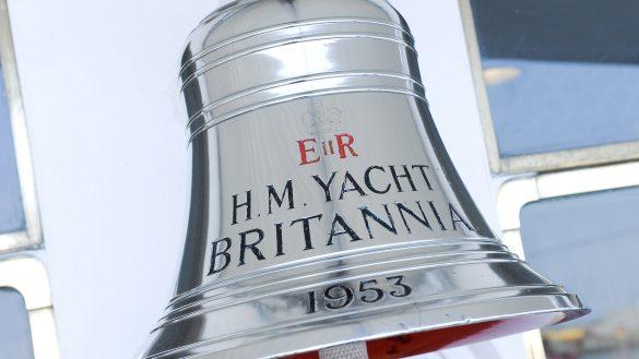 Die 5-Sterne Sehenswürdigkeit »The Royal Yacht Britannia« liegt im Hafen von Leith direkt neben dem Ocean Terminal Einkaufszentrum