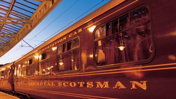 Der Belmond Royal Scotsman gehört zu den exklusivsten Zügen der Welt