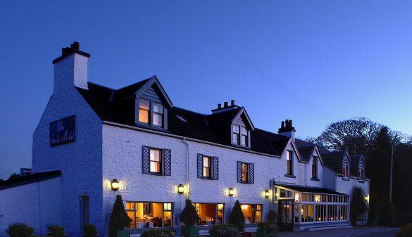 Das Airds Hotel & Restaurant in Port Appin bietet Gastfreundschaft