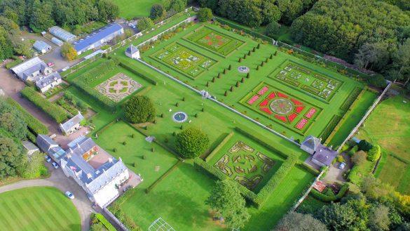 Monique Lanz gives an inside view of Pitmedden Garden near Ellon in Aberdeenshire