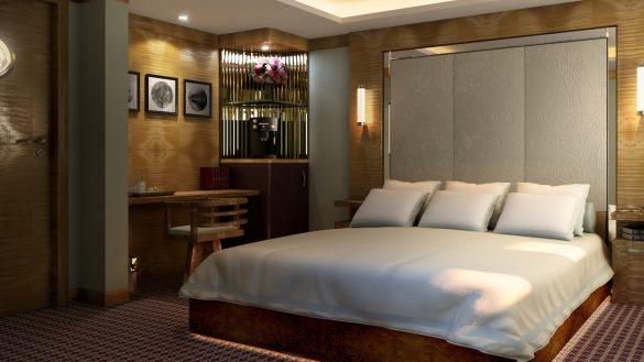Das 5-Sterne Luxus-Hotelschiff FINGAL feiert im November 2018 Eröffnung