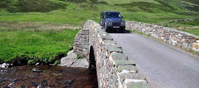 Schottland mit einem 4x4 Land Rover zu entdecken ist ein besonderes Vergnügen