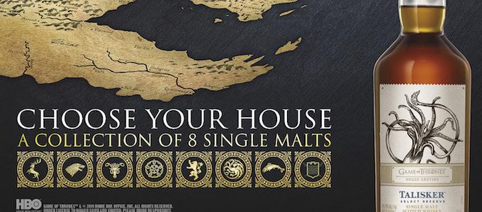 Hier geht es zu der einzigartigen Game of Thrones Single Malt Scotch Whisky Collection