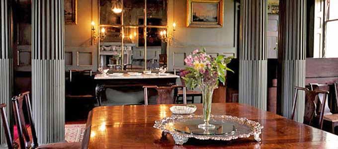 Das Herrenhaus Newhailes bei Musselburgh in East Lothian ist eine 5-Sterne Besucherattraktion