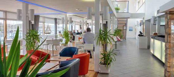 Das Marina Restaurant in Portavadie bietet ein reichhaltiges Angebot an kulinarischem Hochgenuss