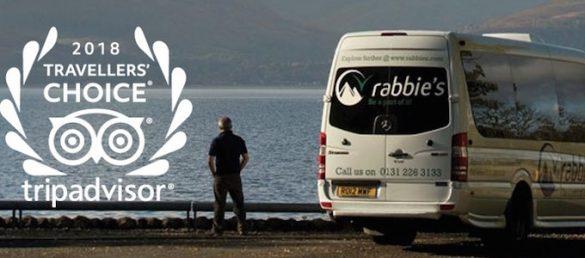 Das Tourenprogramm von Rabbie's bietet eine umfangreiche Auswahl an Reisen in Großbritannien und Irland an