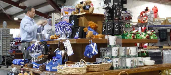 Es gibt ein breites Shopping-Angebot an der Banffshire Coast