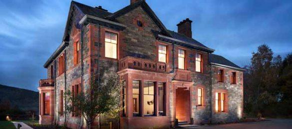 Dun Aluinn ist der außergewöhnliche Name eines exklusiven Ferienhauses bei Aberfeldy
