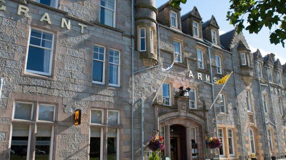 Das Grant Arms Hotel vereint Modernes und Tradition in der Region Speyside