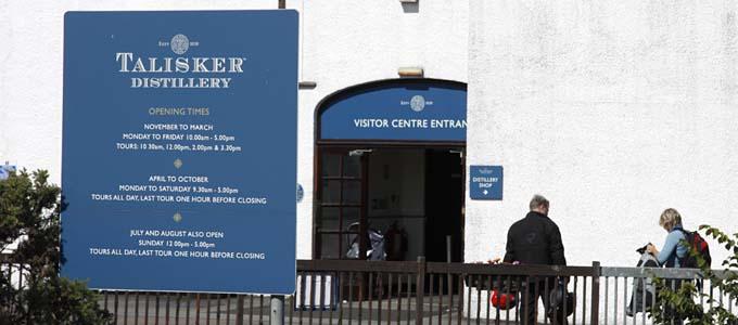 Die Talisker Distillery ist inzwischen nicht mehr die einzige Whiskybrennerei auf der beliebten Urlaubsinsel Skye