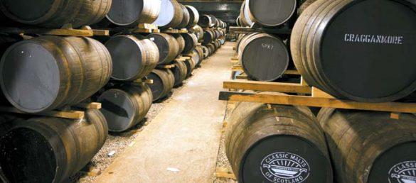 Die Cragganmore Distillery in Speyside entstand auf gepachteten Ländereien von Ballindalloch Castle