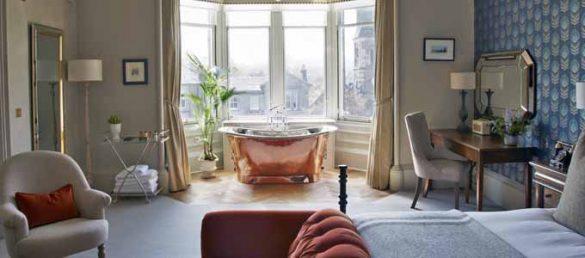 The Dunstane Houses ist ein 5-Sterne Boutique Hotel im Stadtzentrum von Edinburgh
