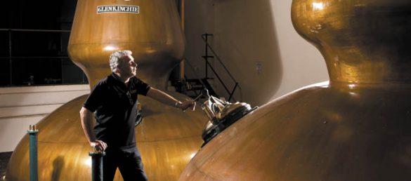 Glenkinchie Distillery produziert den Classic Malt Whisky der schottischen Lowlands