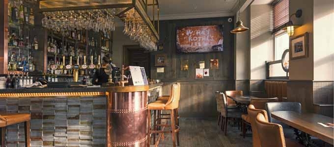Das Station Hotel im Städtchen Rothes liegt im Herzen der Whiskyregion Speyside