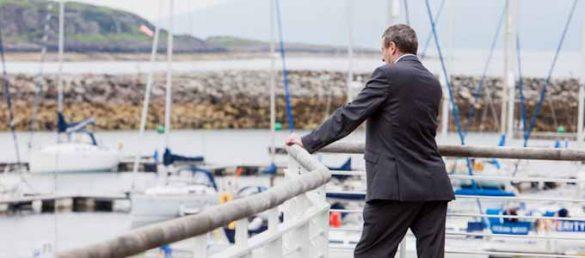 Die einzigartige Lage an den Ufern von Loch Fyne macht Portavadie zu einer perfekten Location für Meetings und Events