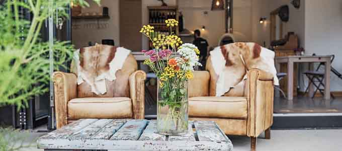 The Kale Yard Garden Café gehört zum Boath House Hotel