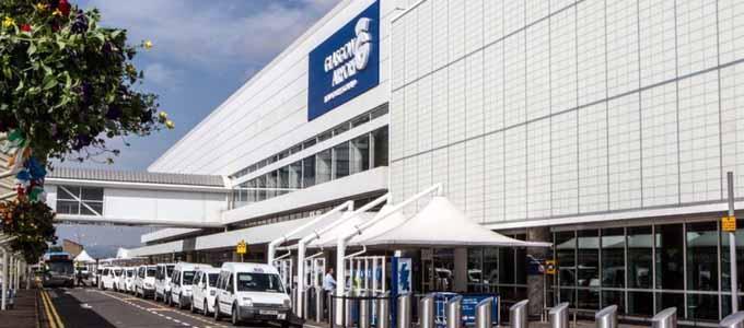 Der Glasgow Airport ist das Tor zu Schottland