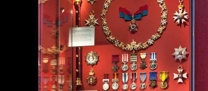 Das Gordon Highlanders Museum in Aberdeen birgt viele militärische Schätze