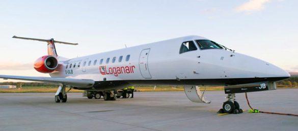 Seit März 2019 fliegt die schottische Fluggesellschaft Loganair von Düsseldorf nach Glasgow