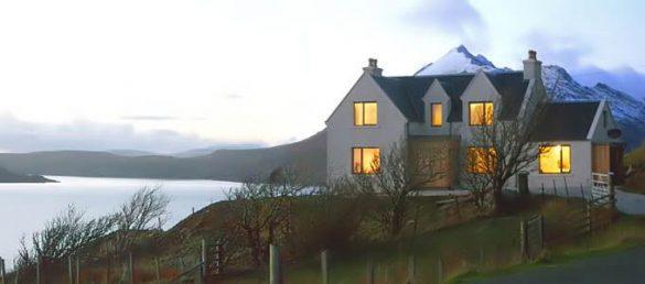 Reizvolle Unterkünfte für Selbstversorger bietet Wilderness Scotland