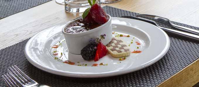 Das Errichel House B&B und Thyme Restaurant laden ein