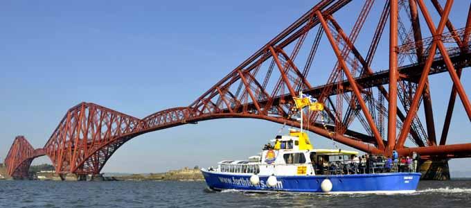 Mit Forth Boat Tours auf Mini-Kreuzfahrt gehen