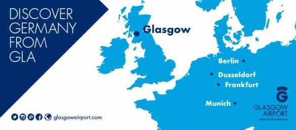 Glasgow Airport is the Gateway to Scotland from Germany