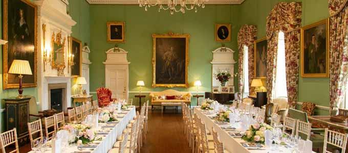Im Kinross House können Gäste ganz exklusiv feiern