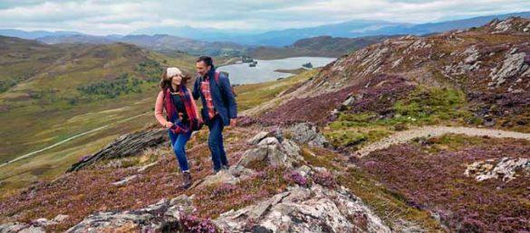 Der Loch Ness 360° Trail führt rund um Schottlands berühmtesten See