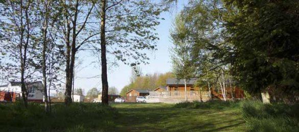 Nethercraig Holiday Park in den Angus Hills von Perthshire