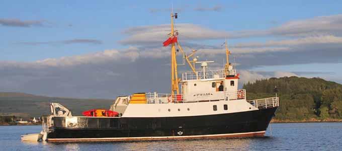 Hier gibt es eine Hebriden-Kreuzfahrt mit der Seahorse II zu gewinnen