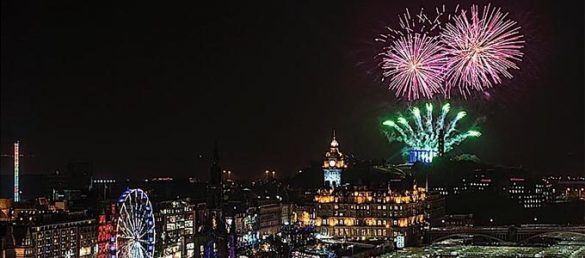Die grösste Silvesterfeier der Welt in Edinburgh - Hogmanay 2019-20