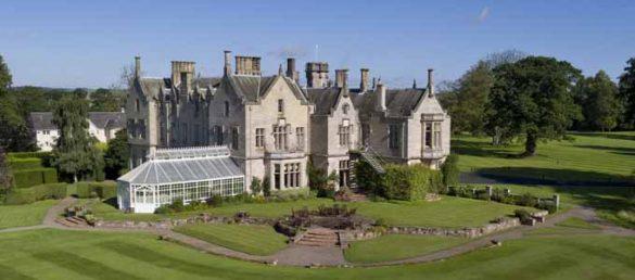 Das SCHLOSS Roxburghe Hotel & Golf Course bei Kelso in den Scottish Borders