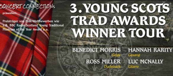 Die Young Scots Trad Awards Winner Tour in Deutschland 2020
