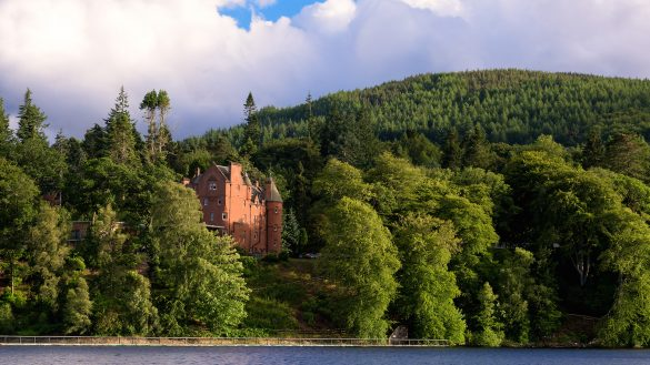 Fonab Castle Hotel & Spa gilt als Traumschloss in Pitlochry