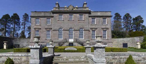 Der Bau des House of Dun in der Grafschaft Angus wurde vom berühmten Architekten William Adam im Jahr 1743 vollendet