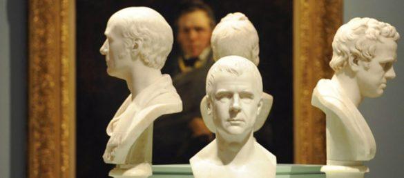 Die Scottish National Portrait Gallery ist in einem neu-gotischen Gebäude in der Edinburgher Queen Street No 1 zu finden
