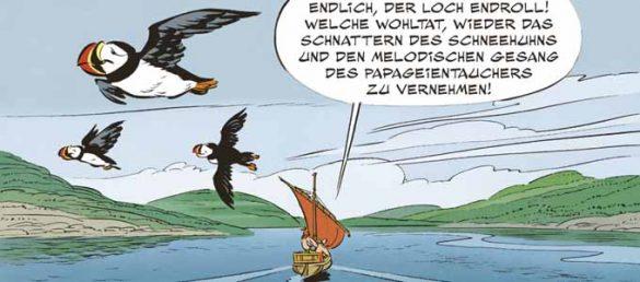 Im 35. Band dieser Reihe können die Leser mit Asterix und Obelix nach Schottland reisen