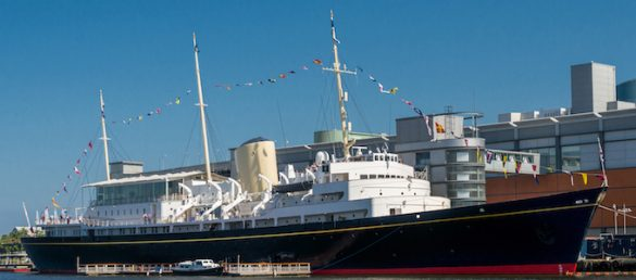 Die Royal Yacht Britannia ist die Nr. 1 Attraktion bei TripAdvisor
