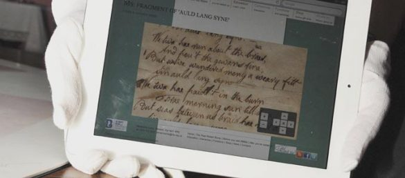 »Auld Lang Syne« ist eine vielgesungene und weltumspannende Hymne aus der Feder des Nationaldichters Robert Burns