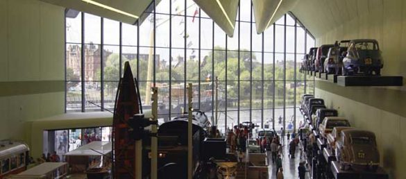 Das Riverside Museum in Glasgow wurde unlängst als das beste Wissenschafts- und Technikmuseum preisgekrönt