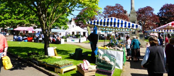 Die Besitzerin von Invermay Lets Holiday Fiona Margarita liebt ihr Blairgowrie in Perthshire
