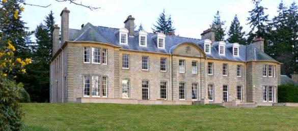 Das Luxus-Gästehaus Blervie House liegt nur wenige Kilometer südöstlich von Forres in der Region Moray
