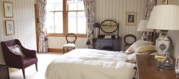 Creag Bhalg ist ein Blockhaus für 8 Personen auf dem Mar Lodge Estate in Royal Deeside
