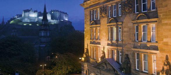 Das Caledonian Hotel in Edinburgh gehört zur renommierten Gruppe der Waldorf Astoria Hotels