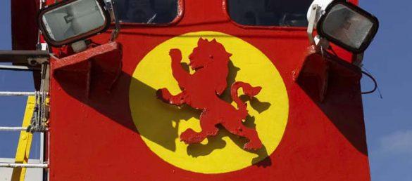 Die CalMac-Fähre zur Kintyre-Halbinsel fährt von Ardrossan in Ayrshire nach Campbeltown dreimal die Woche