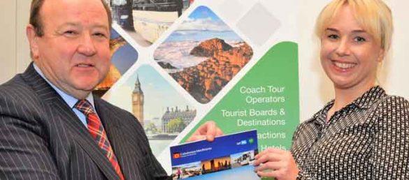 Ian Fox von CalMac Ferries stellt seinen neuen Travel Trade Product Planner für 2018 vor