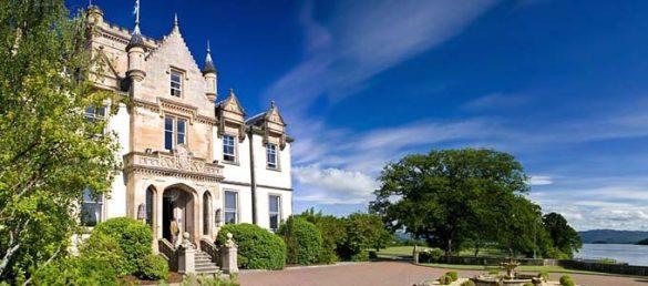 Das Luxus-Herrenhaus Cameron House on Loch Lomond glänzt durch seine Traumlage an Schottlands größtem Binnensee